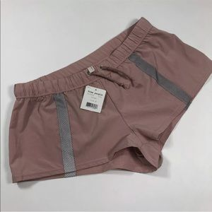 Free People movement running shorts pink medium